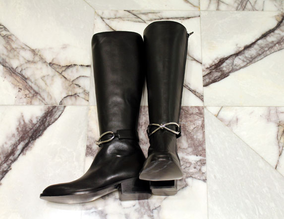 Botas de piel Balenciaga