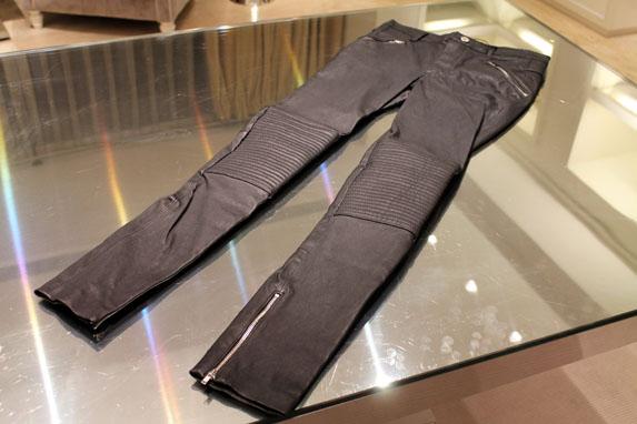 Pantalones de piel BLK DNM