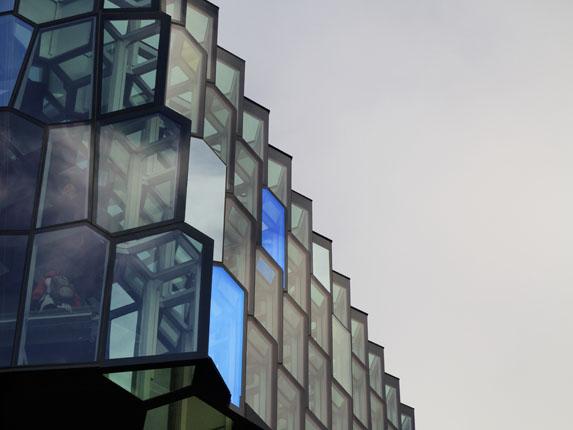 Harpa: arquitectura de hielo y fuego