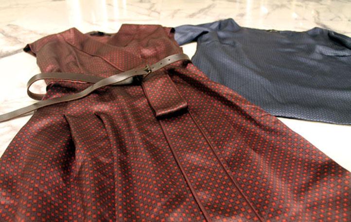 Vestido y blusa MARC JACOBS