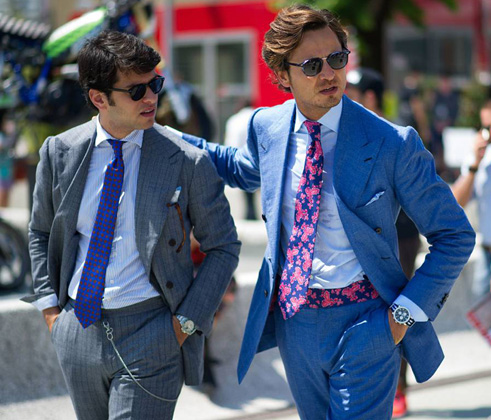 A tie in summer? Yes! | Blog Santa Eulalia